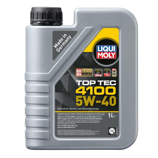Top Tec 4100 5W-40 Motor Yağı