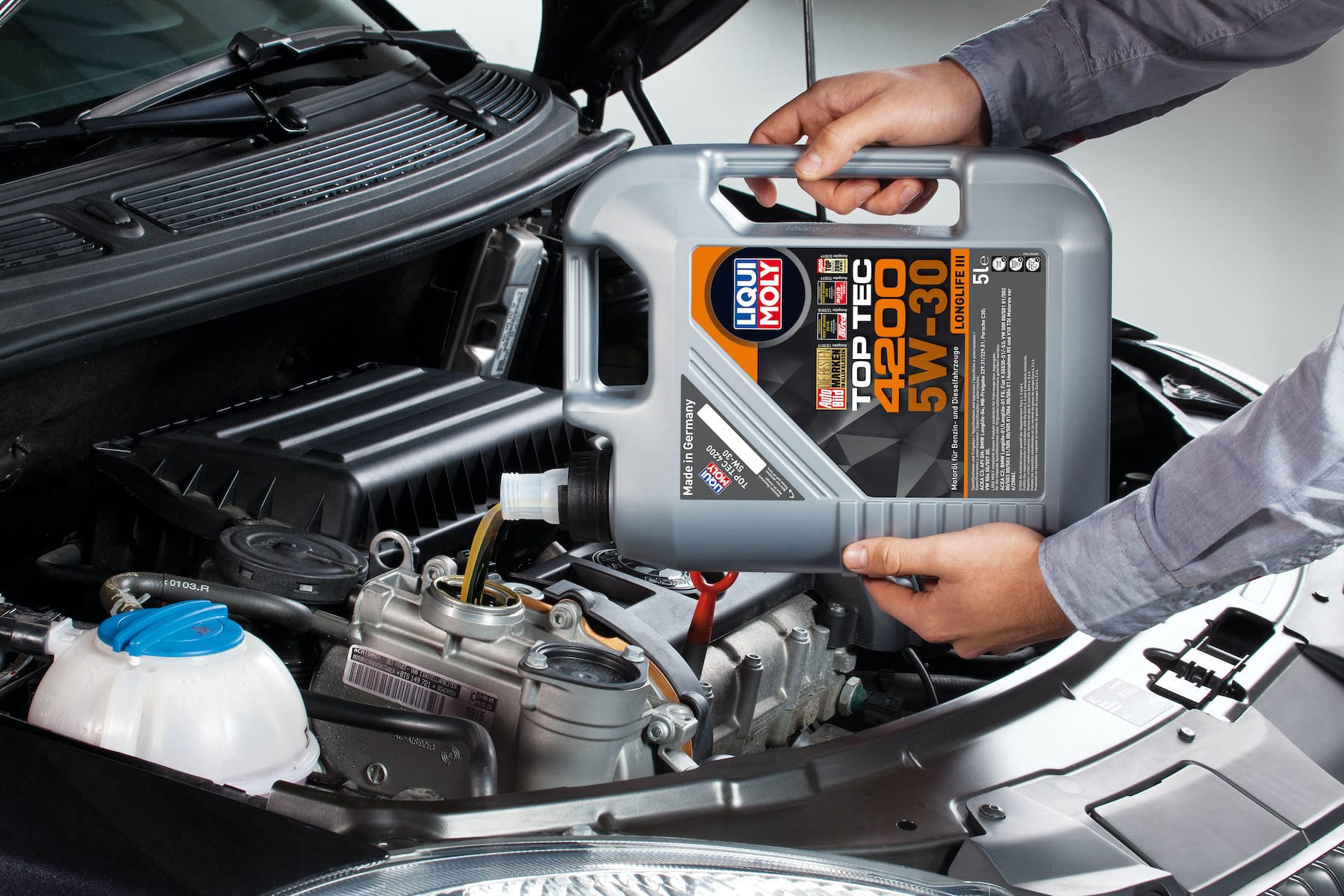 Top Tec 4200 5W-30 Motor Yağı 5LT