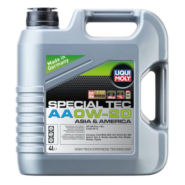 Special Tec AA 0W-20 Motor Yağı 4LT